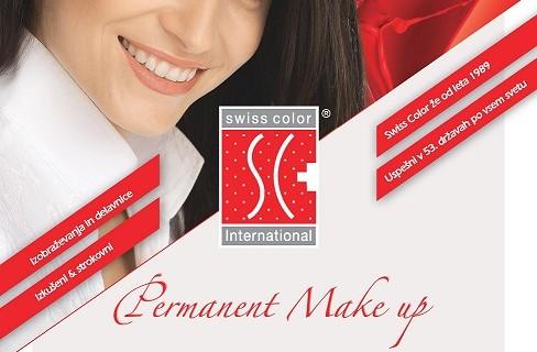 Permanentni Make-up tečaji in delavnice po konceptu Swiss Color International